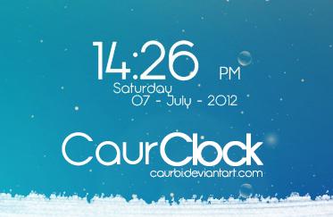 CaurClock
