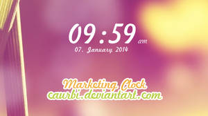 Marketing Clock