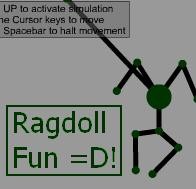 Ragdoll Editor and Simulator by AndrewMartin
