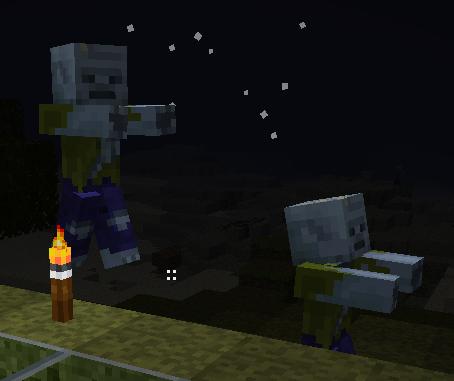 Minecraft Zombie Skin by Markside