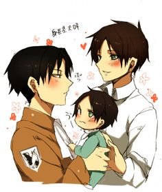 Daddy!Levi x Daughter!Reader x Mommy!Eren](CRACK) by sasukefan778 on