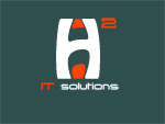 h2 iT Solutions Logo by ItsGameOver
