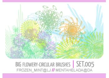 005. flowery-circular brushes by mentahelada