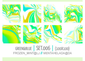 006. green-and-blue textures