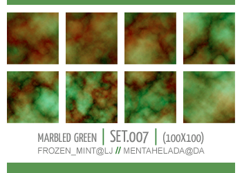 007 - marbled green textures by mentahelada