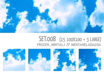 008 - cloud textures by mentahelada