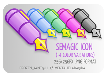 012 - Semagic Icon by mentahelada