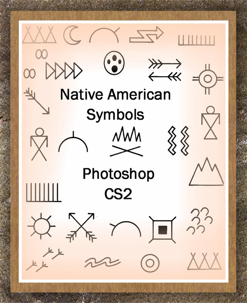 Native American Symbols by AmbiantNight