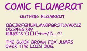 [Font] Comic FlameRat