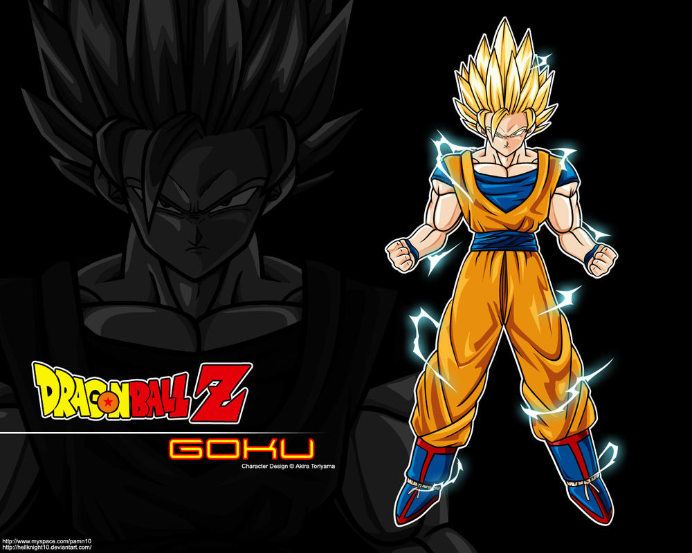 Super saiyan 2 goku wallpaper by hellknight10 on deviantart - Super sayen 10 ...