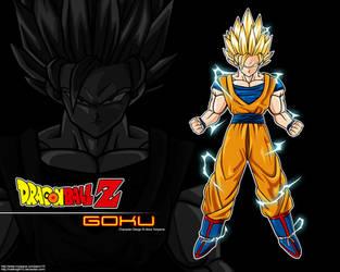 Super Saiyan 2 Goku Wallpaper by Hellknight10