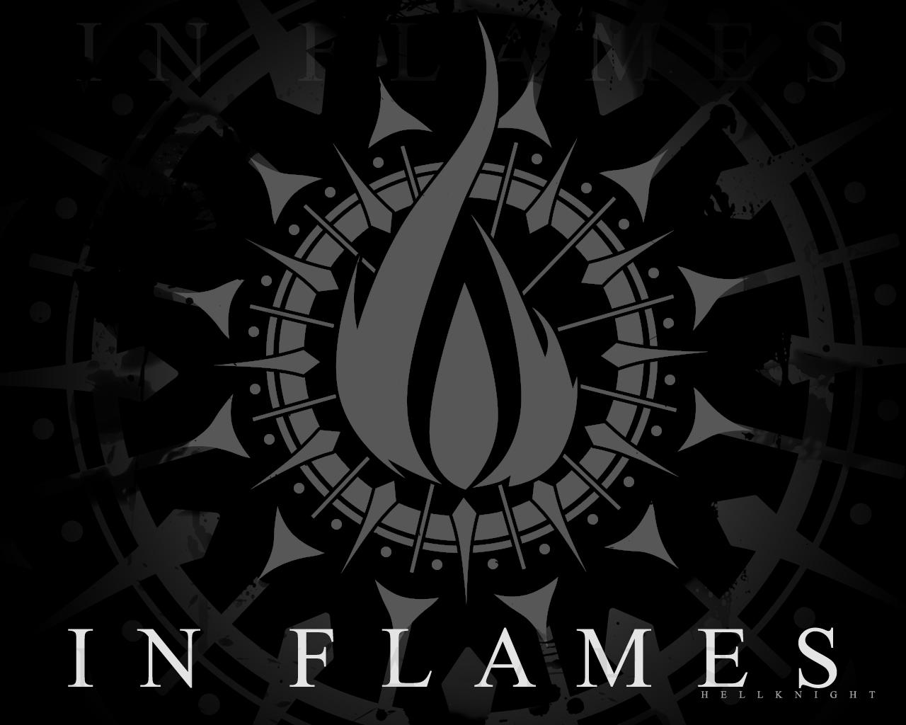In Flames Wallpaper Black by Hellknight10 In Flames Wallpaper Black by  Hellknight10