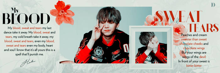 Blood Sweat and Tears: HEADER//TEMPLATE. By: HAKU. by xholyghost