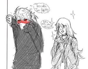 Older Kota and Iris. *Quick Sketch*