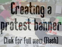 Creating a PROTEST Banner