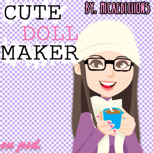 Cute doll maker byMicaEditiions by MicaEdiitions
