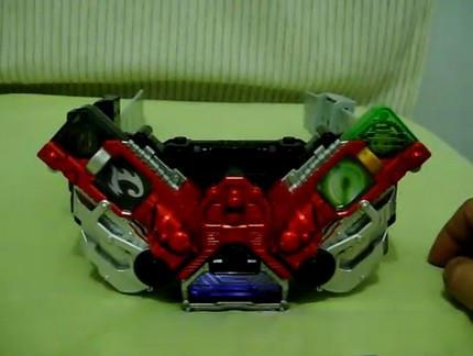 Double Driver-Kamen Rider W