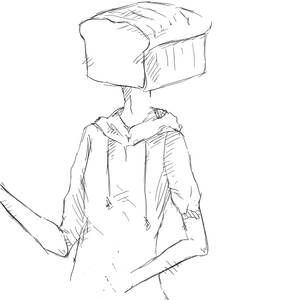 Bread Objecthead