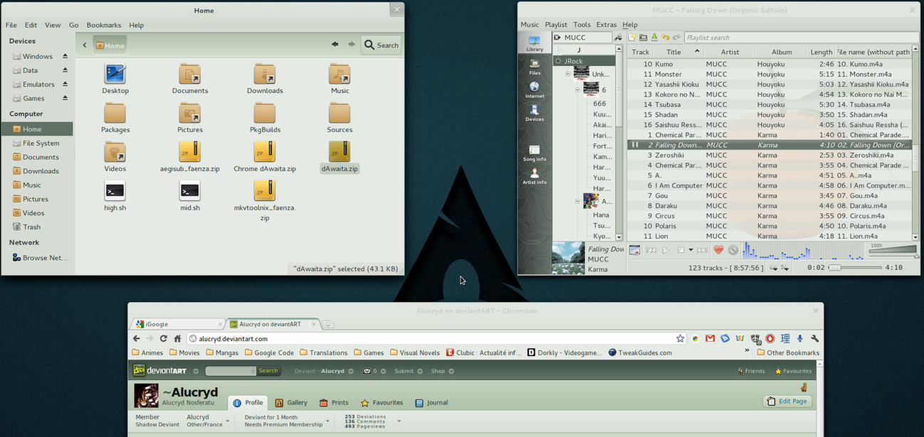 dAwaita GTK3-GTK2 Theme by Alucryd on DeviantArt
