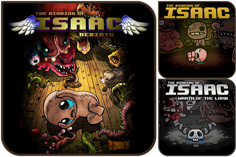 The Binding of Isaac YAIcon Pack by Alucryd