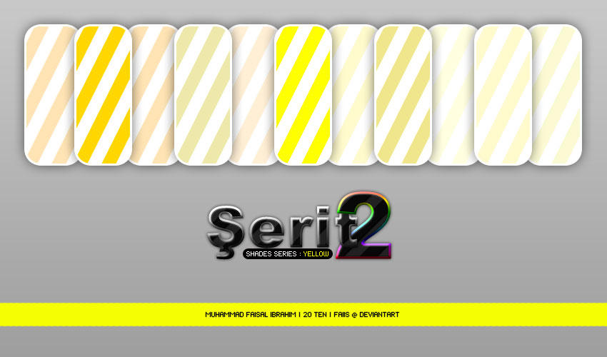 Serit 2 - Shade Series-YELLOW by faiis