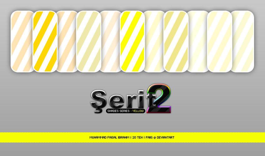 Serit 2 - Shade Series-YELLOW by faiis