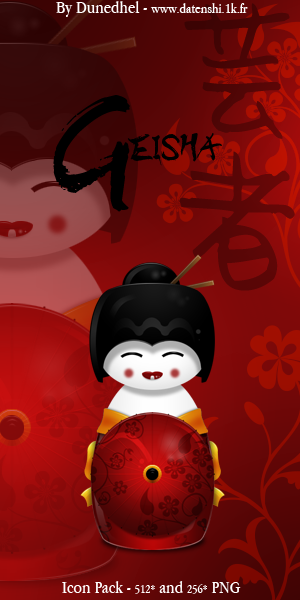Geisha by dunedhel