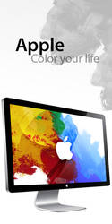 Apple Paint Wall by dunedhel
