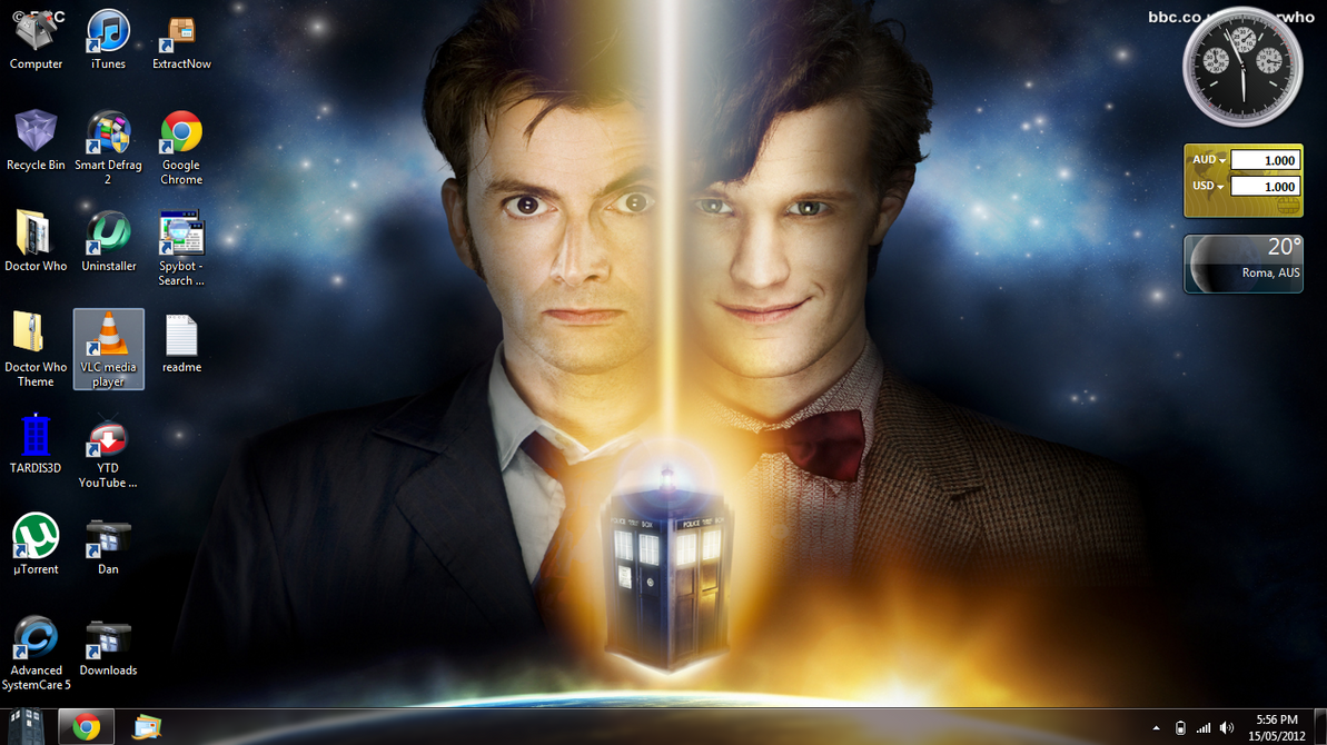 Google themes doctor who - Doctor Who Desktop Theme By Aries927