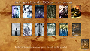 Calendar 2005-german-