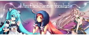 Mini Pack render Vocaloid