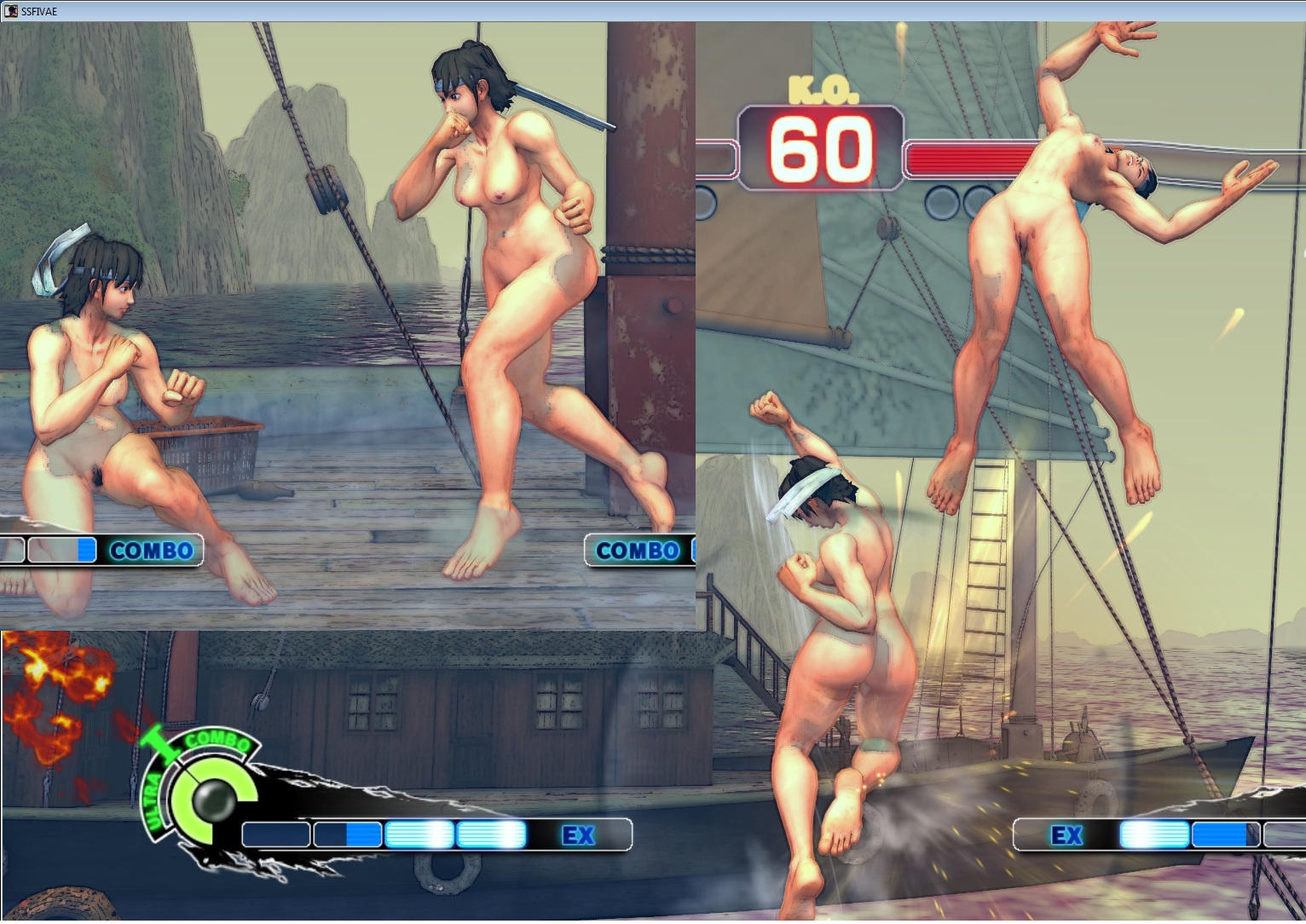Street fighter 4 nude mod erotic movie