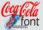 Coca Cola font by AwayThousands