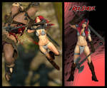 Red Sonja for XPS!