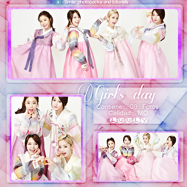 Girl's day, Photopack SPAT by SmilePhotopacksAndT