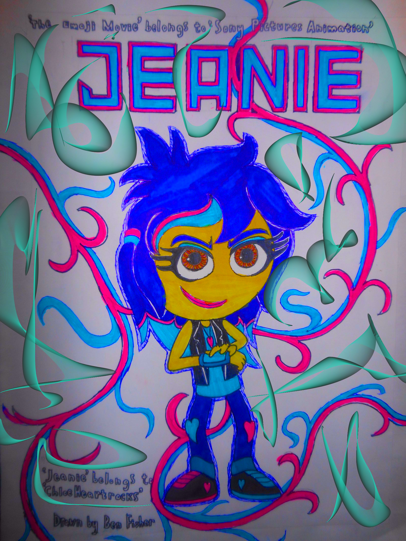 Jeanie character poster Muro by sgtjack2016