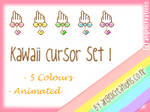 Kawaii Cursor Set 1