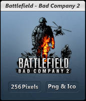 Battlefield Bad Company 2 Icon by Crussong