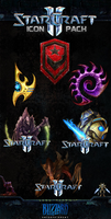 StarCraft II - Icon Pack by Crussong