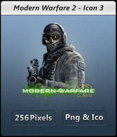 Modern Warfare 2 - Icon by Crussong