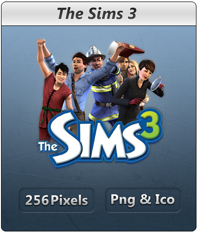 The Sims 3 - Icon by Crussong