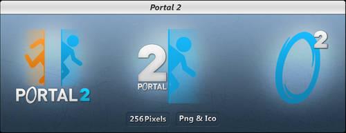 Portal 2 - Icon Pack - LIGHT