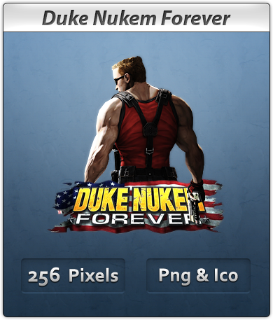 Duke Nukem Forever - Icon by Crussong