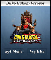 Duke Nukem Forever - Icon 2 by Crussong