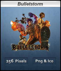 Bulletstorm - Icon by Crussong
