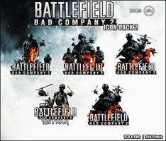 Battlefield BC2 - Icon-Pack 2 by Crussong