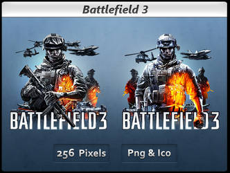 Battlefield 3 - Icon Pack by Crussong