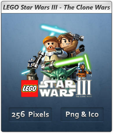 LEGO Star Wars III - Icon by Crussong