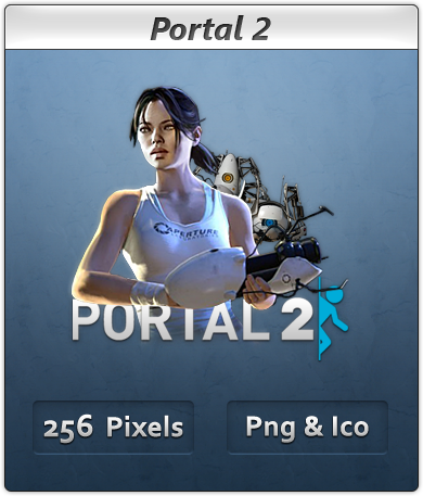 portal 2 chell redesign. portal 2 chell wallpaper.