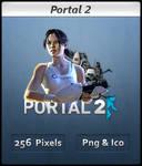 Portal 2 - Chell - Icon